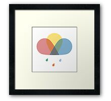 Never Stop Chasing Rainbows Framed Print