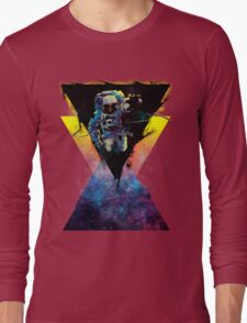 BLACK HOLE TRIANGLE IN SPACE Long Sleeve T-Shirt