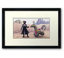Ticket To Ride Framed Print