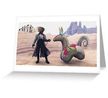 Ticket To Ride Greeting Card