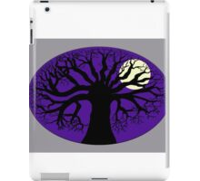 Tree Silhouette & Moon iPad Case/Skin