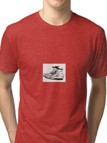 Old Work Shoes Tri-blend T-Shirt