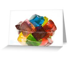 Party in a Glass 2 Greeting Card