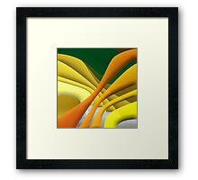 I haven't a clue, do you? Framed Print