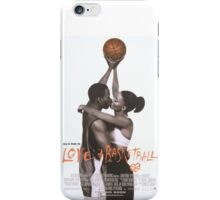 LOVE & BASKETBALL MOVIE POSTER iPhone Case/Skin
