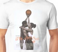 LOVE & BASKETBALL MOVIE POSTER Unisex T-Shirt