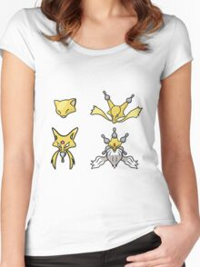 Abra's Evolution Women's Fitted Scoop T-Shirt