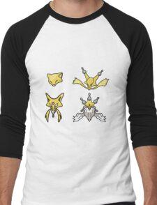 Abra's Evolution Men's Baseball ¾ T-Shirt