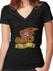 DA@DC Version 1 Women's Fitted V-Neck T-Shirt