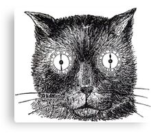 Clockwork Tabby Canvas Print