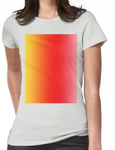 Ombre (Sunset) Womens Fitted T-Shirt