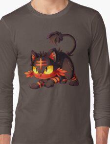 Litten approaches! Long Sleeve T-Shirt