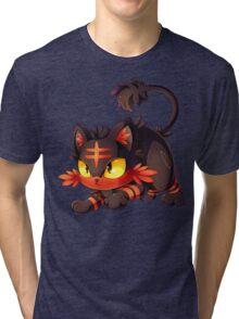 Litten approaches! Tri-blend T-Shirt
