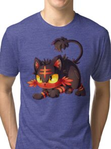 Litten approaches! Tri-blend T-Shirt