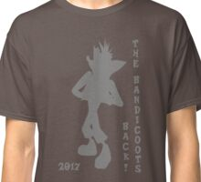 Crash Bandicoot Silhouette The Bandicoots Back! Classic T-Shirt