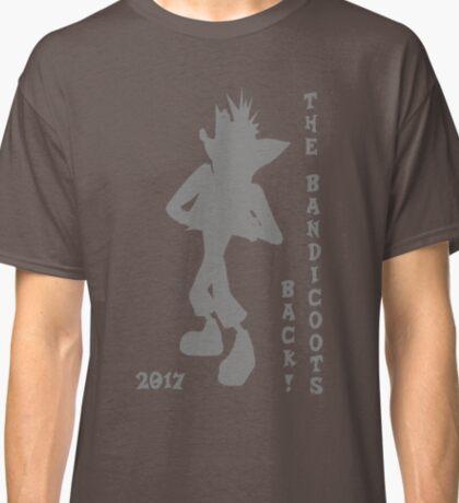 Crash Bandicoot Silhouette The Bandicoots Back! Classic T-Shirt