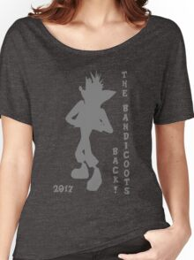 Crash Bandicoot Silhouette The Bandicoots Back! Women's Relaxed Fit T-Shirt