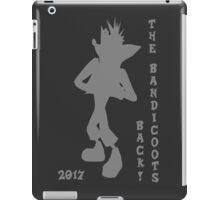 Crash Bandicoot Silhouette The Bandicoots Back! iPad Case/Skin