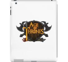 AGE OF THRONES iPad Case/Skin