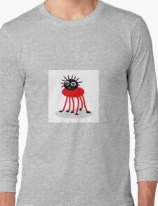 BUG-ME-NOT, red Long Sleeve T-Shirt