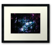 Fantasy Starry Forest 3 Framed Print