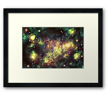 Fantasy Starry Forest 4 Framed Print