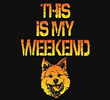 This Is My Weekend Akita Unisex T-Shirt