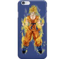 Son Goku Dragon Ball Super Saiya iPhone Case/Skin