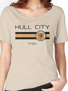 EPL 2016 - Football - Hull City (Home Orange) Women's Relaxed Fit T-Shirt