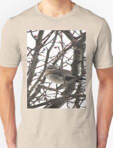 Bird in the Snow Unisex T-Shirt