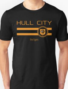 EPL 2016 - Football - Hull City (Away Black) Unisex T-Shirt