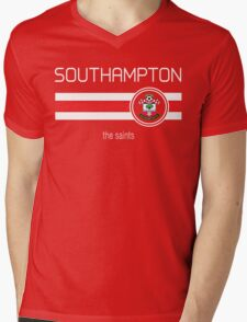 EPL 2016 - Football - Southampton (Home Red) Mens V-Neck T-Shirt