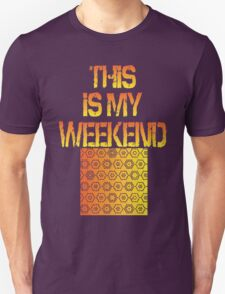 This Is My Weekend Beadworking Unisex T-Shirt