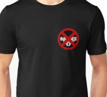 Nudist Beach Badge  Unisex T-Shirt