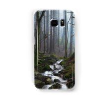 Misty Forest Stream Samsung Galaxy Case/Skin