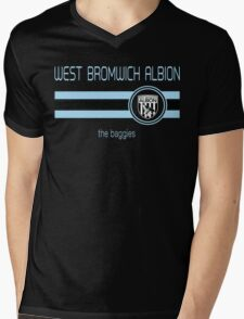 EPL 2016 - Football - West Bromwich Albion (Away Black) Mens V-Neck T-Shirt