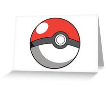 Pokemon Go Ball Greeting Card