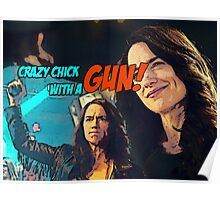 Wynonna Earp - crazy chick with a gun Poster