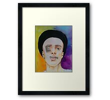Usually Just A T-shirt Framed Print