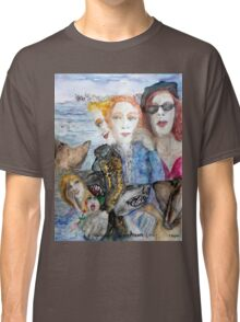Listen to the Shark/ Listen to the Dog Classic T-Shirt
