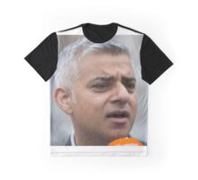 The Mayor of London, Sadiq Khan Graphic T-Shirt