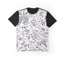 - Coffee Shop pattern - Graphic T-Shirt
