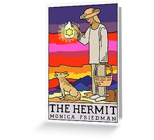 The Hermit and The Coyote Greeting Card