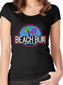 Beach Bum Women's Fitted Scoop T-Shirt