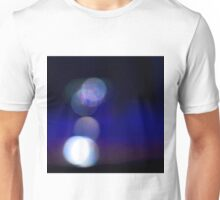 Light shining off objects on the bench Unisex T-Shirt