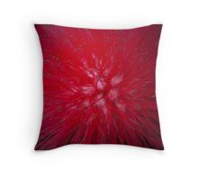 Tips of the stunning Pom-Pom flower Throw Pillow