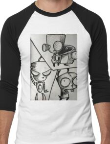 GIR! Men's Baseball ¾ T-Shirt