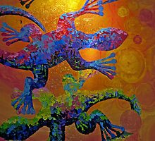 Gecko Mosaic by phil decocco