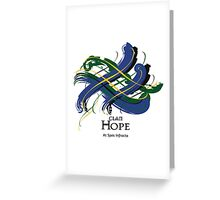 Clan Hope  Greeting Card