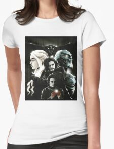 game of thrones poster Womens Fitted T-Shirt